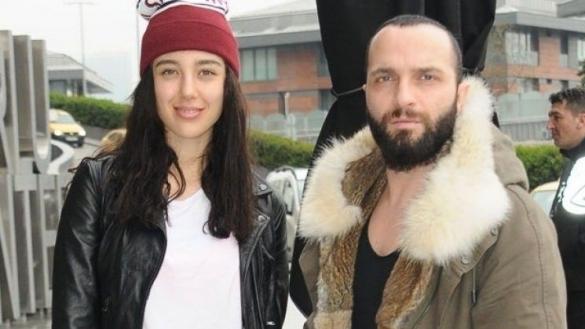 Berkay et sa femme