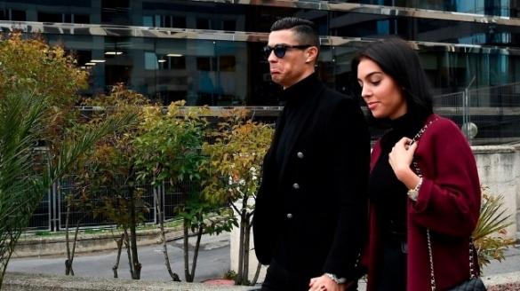 Ronaldo et Georgina Rodriguez