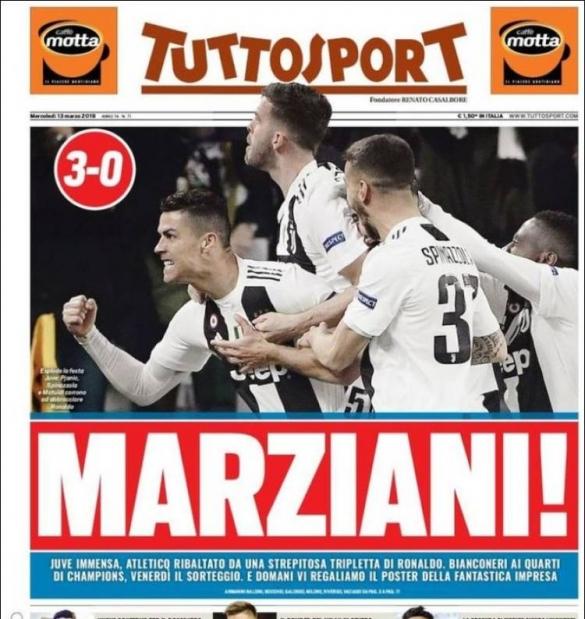 Triplé CR7 Tuttsport