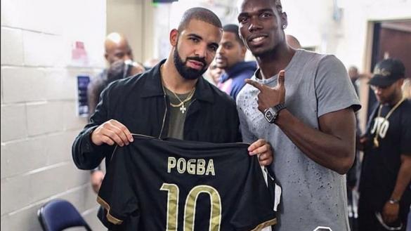 Drake et pogba