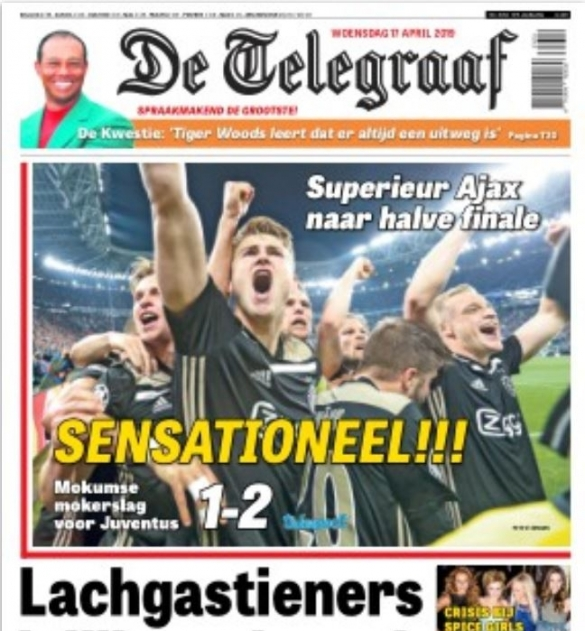 De Telegraaf Juve-Ajax