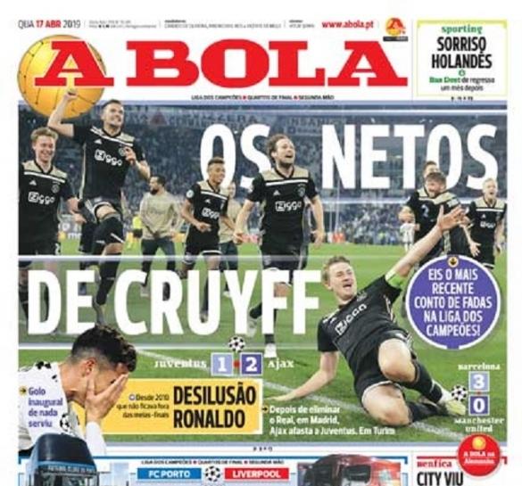 A Bola Juve-Ajax