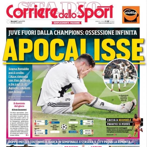 Corriere Juve-Ajax