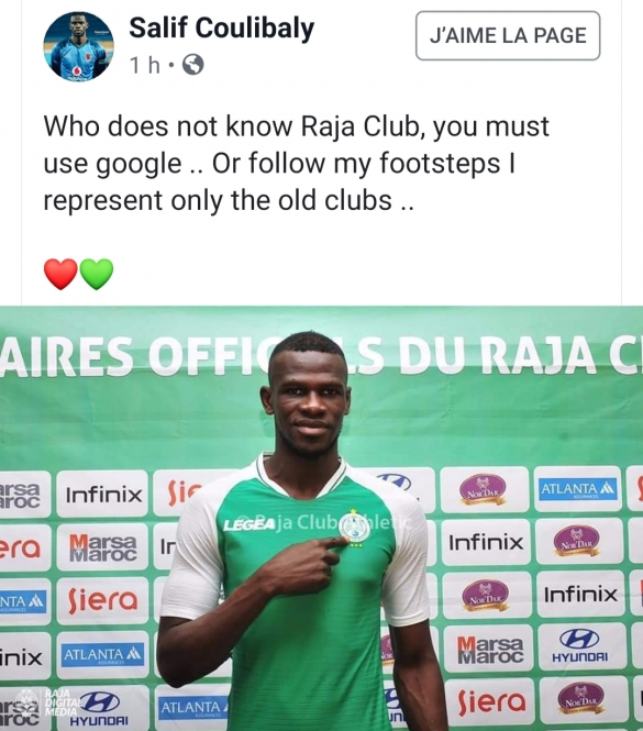 coulibaly facebook