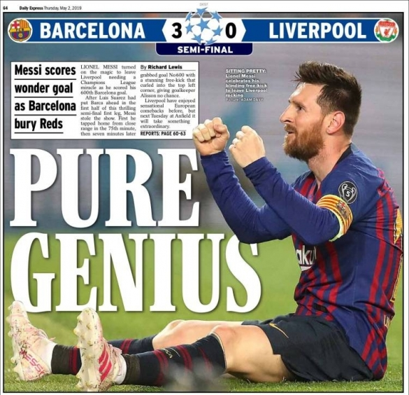 Daily Express Messi