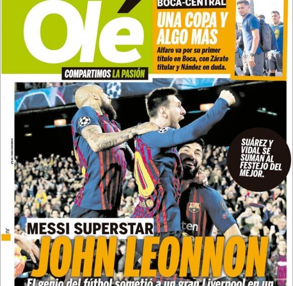 Olé Messi