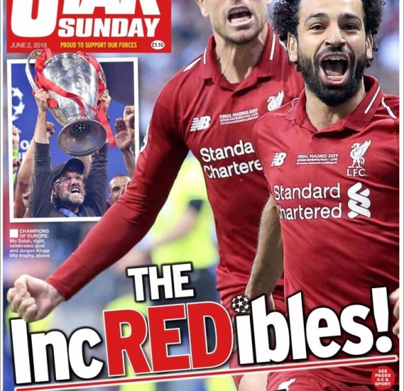 Daily Star Sunday Liverpool