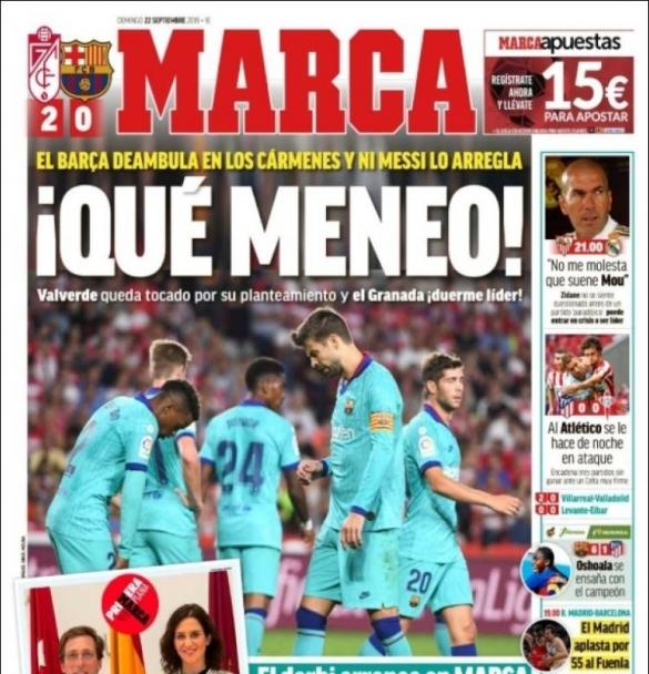 Barça Grenade MARCA