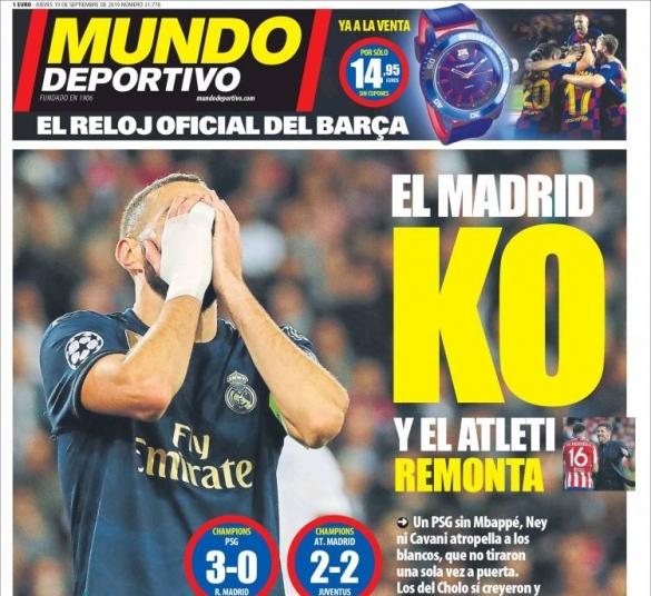 Mundo Deportivo KO