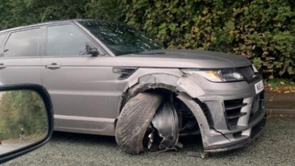Accident Aguero