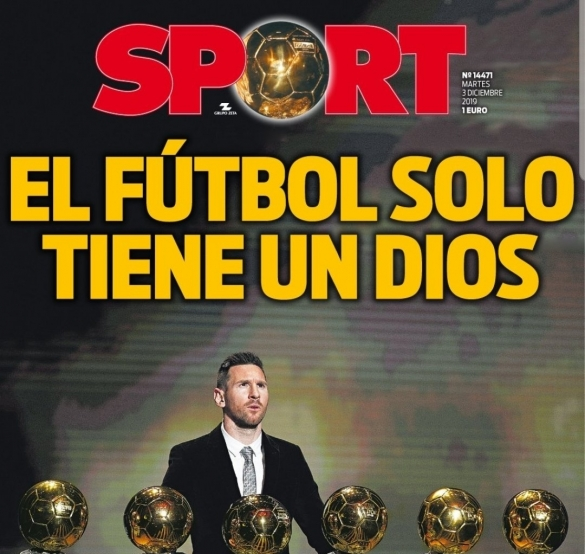 Messi 6e Ballon d'Or: Sport